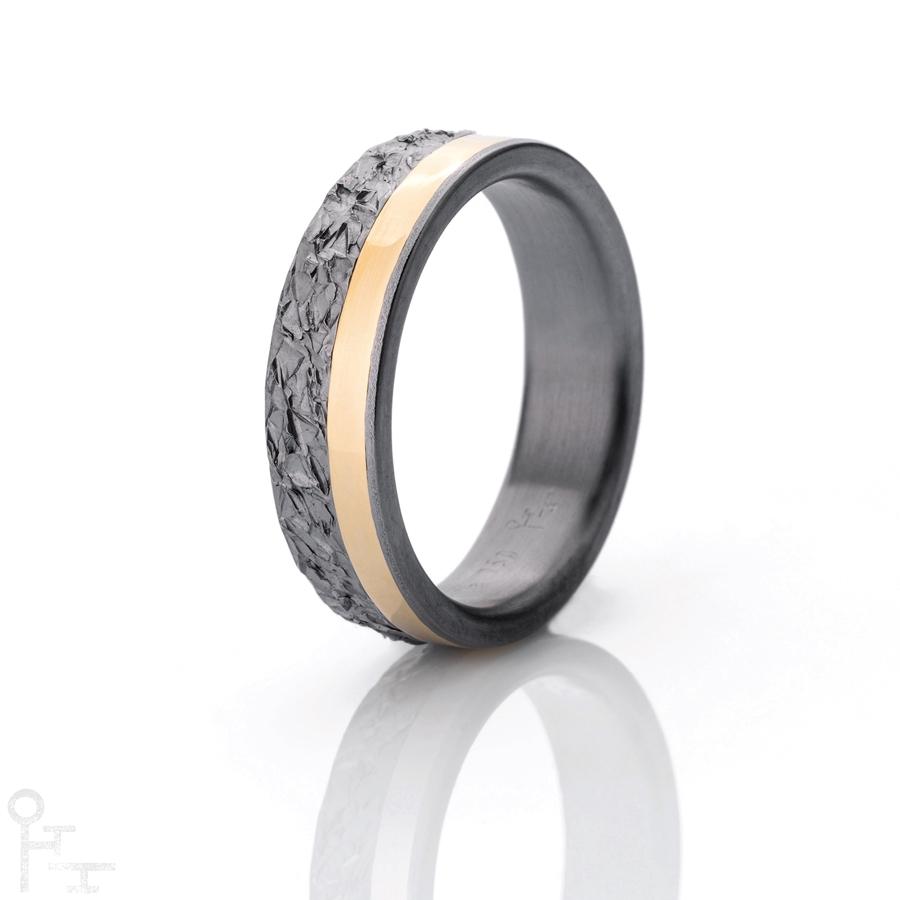 Tantal Ringe, Freundschaftsringe, Verlobungsringe, Handgeschmiedete Ringe