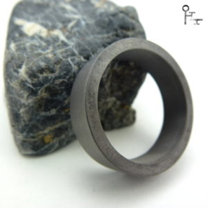 Tantal Ring-Rohling und Stein Motiv Bild